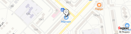 Магазин крепежных изделий и инструмента на карте Чебоксар