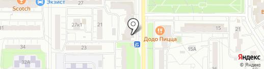 Мега-Мед на карте Чебоксар