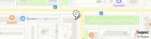 Банкомат, Сталь банк на карте Чебоксар