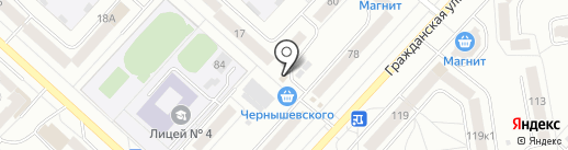 Эконом на карте Чебоксар