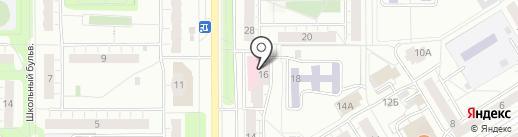 Цифровой салон на карте Чебоксар