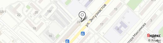 ЭкспрессДеньги на карте Чебоксар