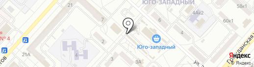 Золотой хмель на карте Чебоксар