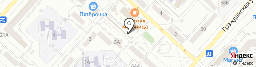 Обувной магазин на карте Чебоксар