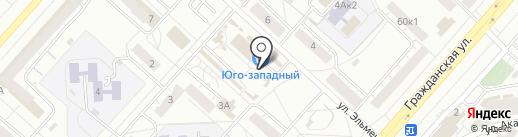 МастерОк на карте Чебоксар