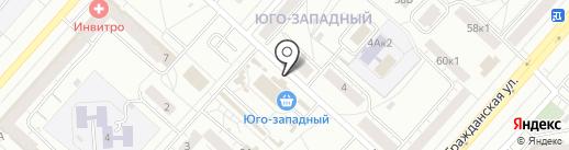 Вега на карте Чебоксар