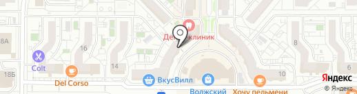 Decadence на карте Чебоксар