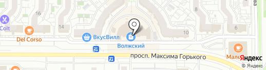 Карат на карте Чебоксар