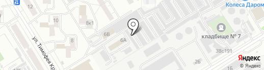 Центр кузовного ремонта на карте Чебоксар