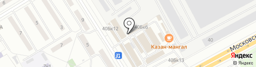 Магазин по продаже табачной продукции на карте Чебоксар