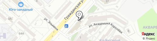 Магазин хозтоваров на карте Чебоксар