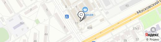 Марина на карте Чебоксар