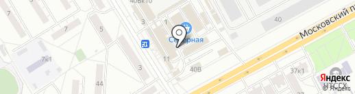 Мебель бум на карте Чебоксар