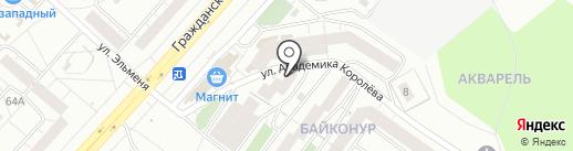 Торгово-сервисная компания на карте Чебоксар