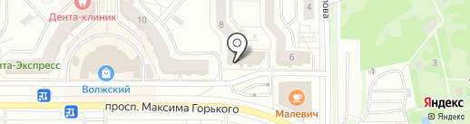 Мастерская по изготовлению ключей и ремонту обуви на карте Чебоксар