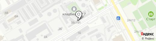 Ялмад на карте Чебоксар