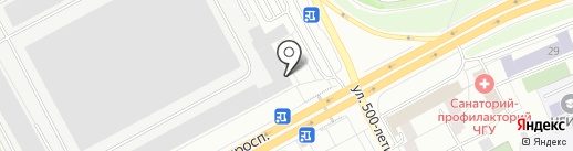 Банк ВТБ 24, ПАО на карте Чебоксар