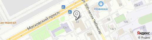 Чувашский государственный театр юного зрителя им. М. Сеспеля на карте Чебоксар