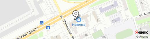Торгово-ремонтная компания на карте Чебоксар