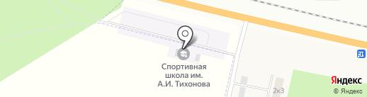 ДЮСШ им. А.И. Тихонова на карте Чебоксар
