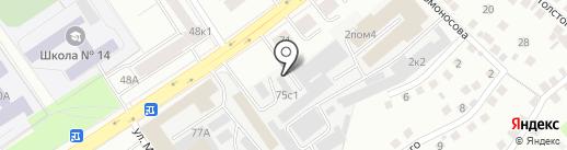 Интерактив плюс на карте Чебоксар