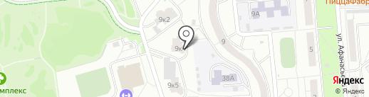 Отрада, ТСЖ на карте Чебоксар