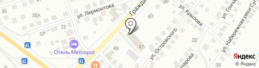 Гранит-Сервис на карте Чебоксар