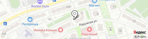 Торговая компания на карте Чебоксар