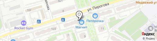 GEONA на карте Чебоксар
