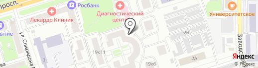 WebstudioBF на карте Чебоксар