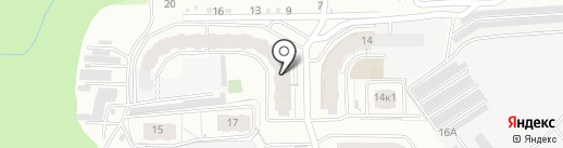 Ютон на карте Чебоксар