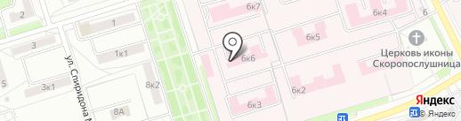 Республиканская психиатрическая больница на карте Чебоксар