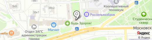 Билайн на карте Чебоксар