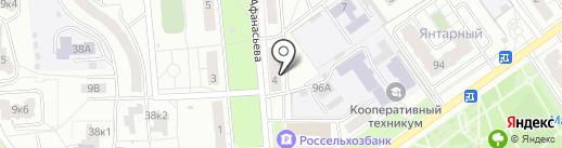 Риком на карте Чебоксар