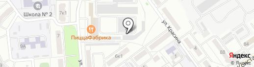 Керамстром на карте Чебоксар