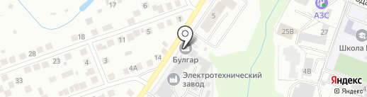 Кузница на карте Чебоксар