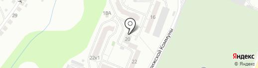 Дворик, ТСЖ на карте Чебоксар