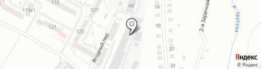 Сегор Стекло на карте Чебоксар