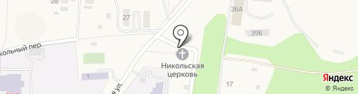 Свято-Никольский храм на карте Чебоксар