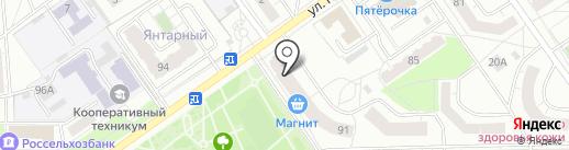 Lash & Nail на карте Чебоксар