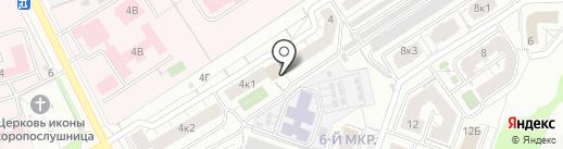Промарматура на карте Чебоксар