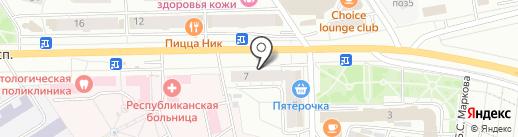 ChebEXTREME на карте Чебоксар