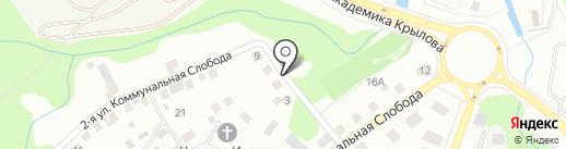 ГОНГ на карте Чебоксар