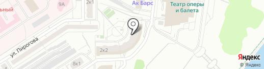 Дорисс на карте Чебоксар