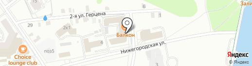 Balcon на карте Чебоксар