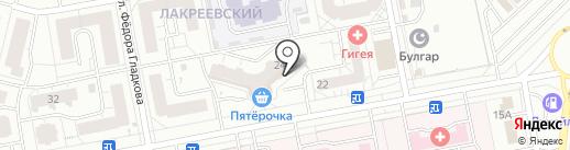 Салон цветов на карте Чебоксар