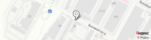 АэроКлимат на карте Чебоксар