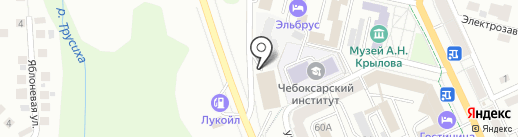 PitstoP на карте Чебоксар