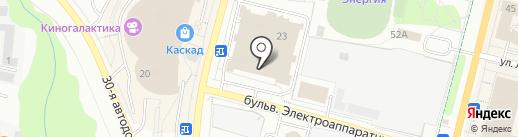 Магазин парфюмерии и косметики на карте Чебоксар