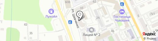 Pro show group на карте Чебоксар